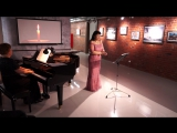 Светлана Люпп - Колечко золотое (вокальный цикл Любовь и жизнь женщины, Роберт Шуман)