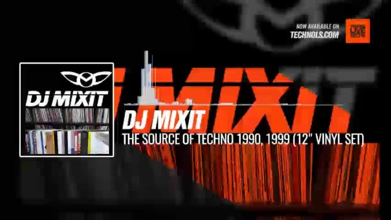 Techno music with DJ MiXiT @Jordideman The Source of Techno 1990 1999 12″ Vinyl Set