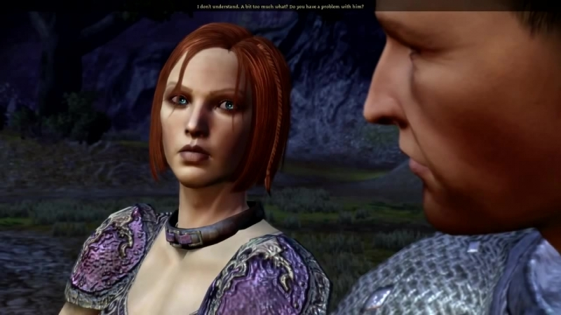 Dragon Age Banter Cutscene 1 Alistairs distrust of Zevran