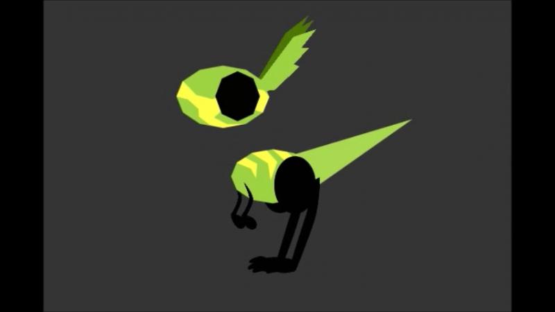 2.5D-модель персонажа в Hippani Animator