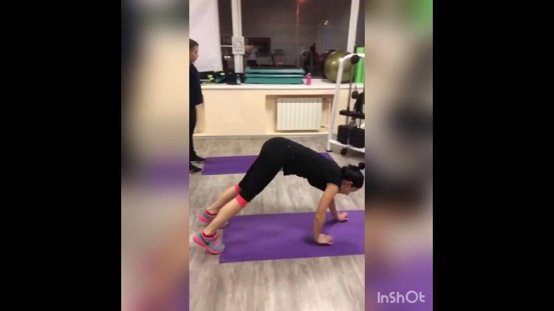 Круговая тренировка с тренером Настей
