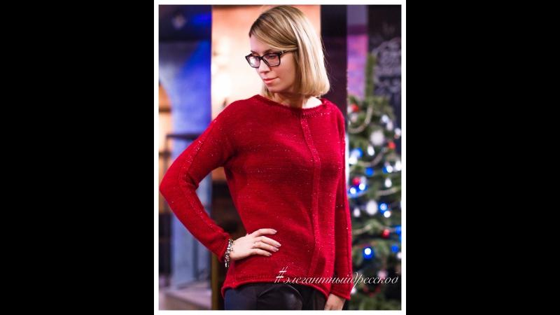 Коллаж вязаного трикотажа, уютного мягкого стильного до 54 размера, цена 2200
