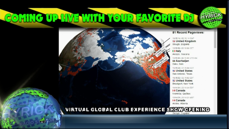 MARCH VIRTUAL GLOBAL CLUB EXPERIENCE SHOW OPENING