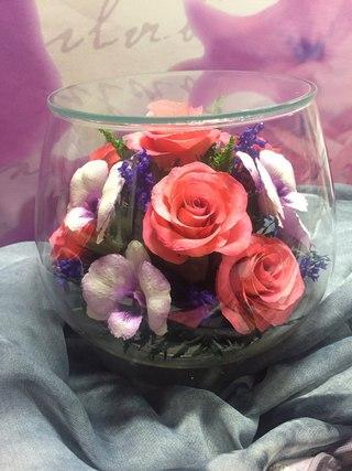 Цветы в вакууме пермь купить где купить розы колхоз