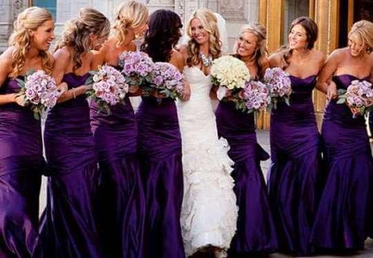 Платья для подружек невесты: как не померкнуть и не затмить