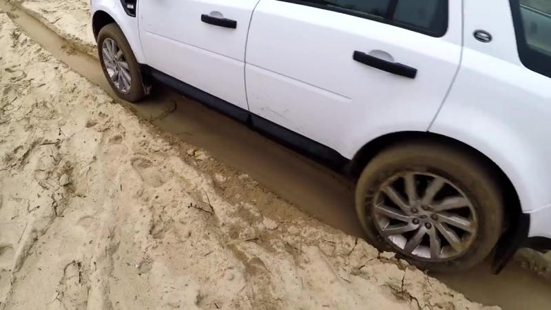 BMW X6 VS Land Rover Freelander 2_ бездорожье для них или нет