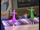 Ксюша 4 танца на Снежной румбе