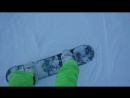 Моё первое катание на Сноуборде!)