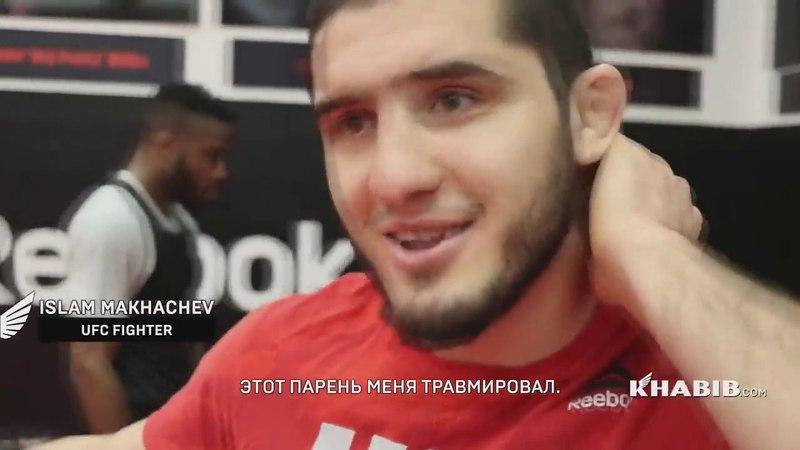 ВОТ ЗА ЧТО УВАЖАЮТ ХАБИБА 2 ЭПИЗОД ПЕРЕД БОЕМ С ТОНИ ФЕРГЮСОНОМ НА UFC 223 !