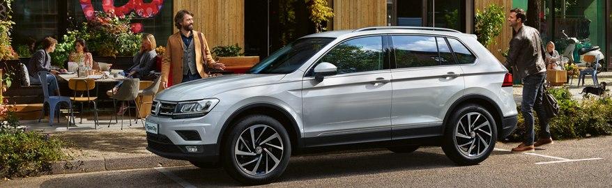 Volkswagen предложил городскую версию «Тигуана»