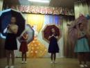 День матери. Танец с зонтиками.