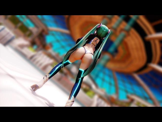 MMD SEXY - Hatsune Miku 【Ura omote lovers 】R18 1080p 60FPS