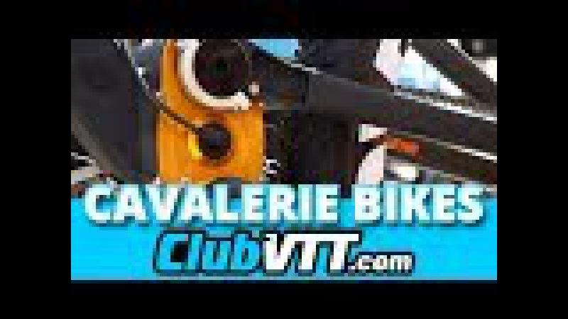CAVALERIE bikes - Vtt génial avec boîte de vitesses et courroie - 441