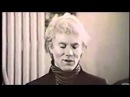Andy Warhol & Brigid Berlin interview on Electric Chairs & Flowers   Revolver Gallery