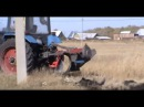 Плуг лесной ПКЛ-700 на трактор Беларус-82.1