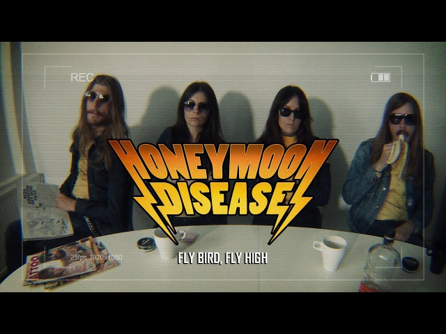 HONEYMOON DISEASE - FLY BIRD, FLY HIGH (Official Video)