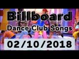 Billboard Dance Club Songs TOP 50 (February 10, 2018)