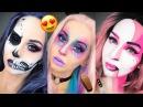 ТОП 10 яркий ГРИММ / Макияж на ХЕЛЛОУИН. Красивый макияж на хеллоуин