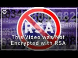 This Video was Not Encrypted with RSA  Infinite Series