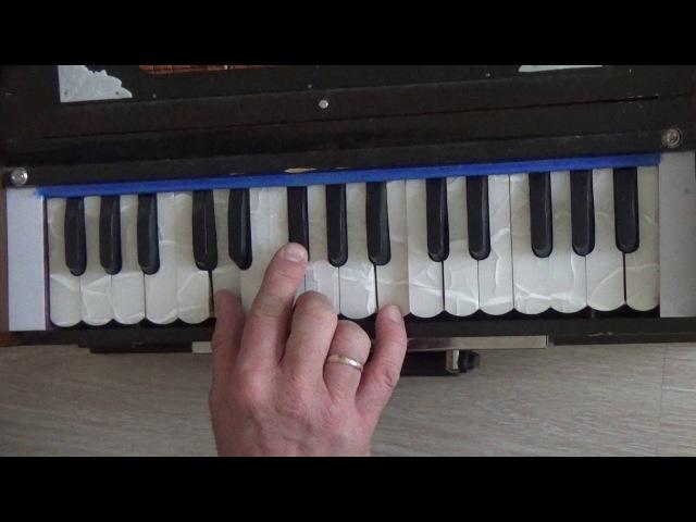 Обучение на фисгармонии. 108 мелодий екатеринбургских харинам. Гурваштака