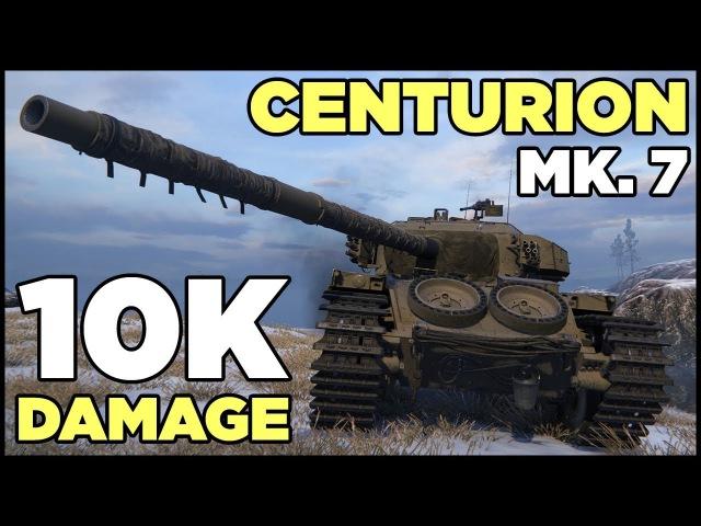 Centurion Mk. 7/1 (deh0mbre's skin) - 10K Damage - 11 Kills
