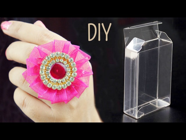 DIY Creative Ways to Reuse packaging plastic boxes | Recycle boxes | Best Out of Waste | Beads art