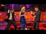 Tom Cruise, Annabelle Wallis and Zac Efron Dance
