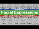 Using Frank Reilly's Abstraction Method to Draw Facial Expressions Narrated