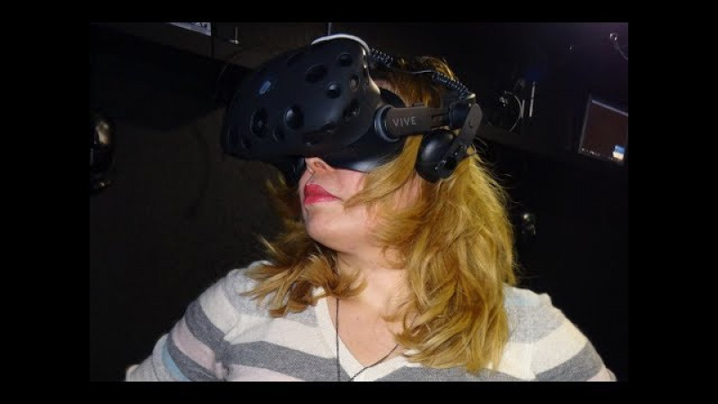виртуальная реальность - игра нового типа . испытываю на себе
