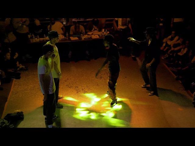 YANKA SO YUZ (La Smala) VS JIKAY DIMUST (BPF) Quart de Finale Popping AOD 11
