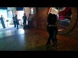 Elyse &amp Lizbeth Roc Kizomba class Demo