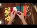 Weaving on a Cardboard Loom PART 5