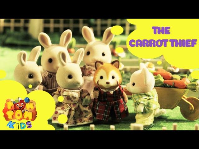 Kids Cartoon 2016   Rabbit Story   Episode 8 - CARROT THIEF   POMPOM4kids