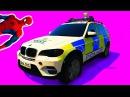 Цветные Машинки для детей Мультики про Машинки Пожарная Машина Полицейская Маш ...