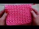 Стильный ажурный узор Вязание спицами Видеоурок 251