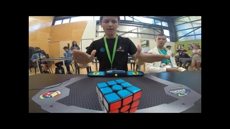 Speed-Solving Record Set for Rubik's Cube