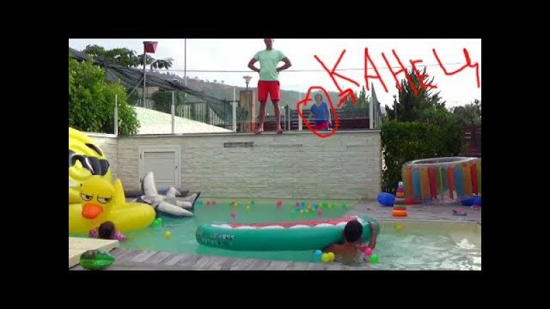 Мистер Макс Новые серии Песня про Мистера Макса и Мисс Кейти Супер прыжок папы