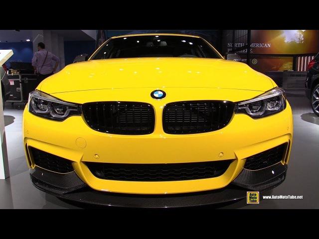 2018 BMW 440i Gran Coupe M Performance - Exterior Interior Walkaround - 2017 LA Auto Show