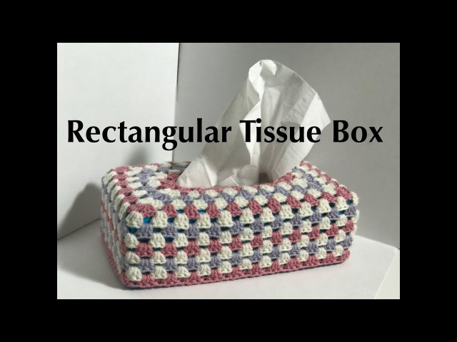 Ophelia Talks about a Crochet tissue box cover