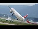 Посадки с боковым ветром во время шторма экстремальные прерванные посадки и невероятные посадки