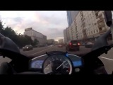 Скорость мотоцикла 300 кмч по Москве