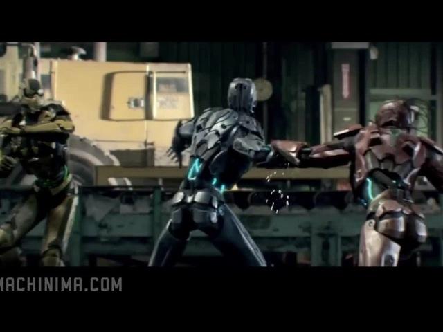 Clip Mortal kombat legacy/Song Skrillex-Reptile