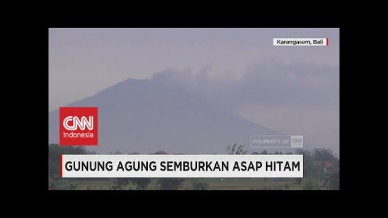 Gunung Agung Meletus Lagi Warga Kembali Mengungsi