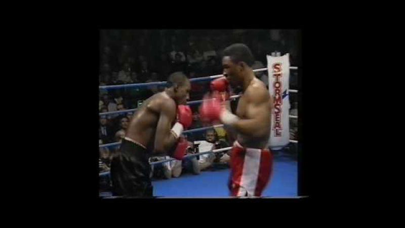 1990-04-14 Mike McCallum vs Michael Watson