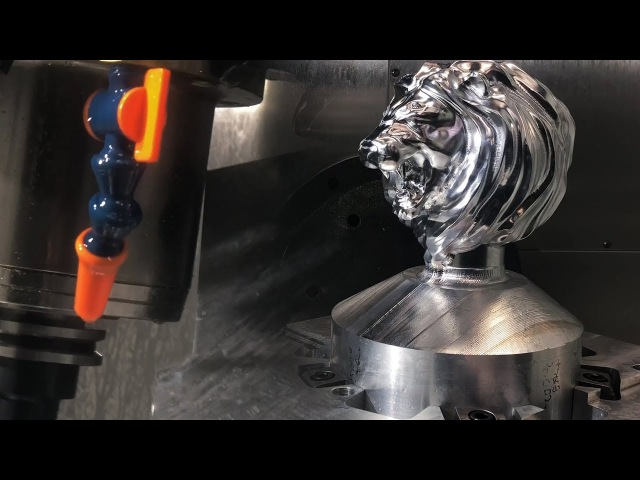 EXTREMELY TIGHT 5-Axis Machining Clearance!!