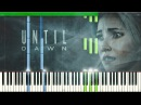 O Death - Amy Van Roekel (Until Dawn) [Synthesia Piano Tutorial]