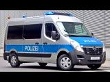Opel Movano Polizei