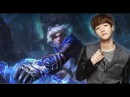 [Funny] EXO League of Legends   BaekHyun and XiuMin exchanged combinations in the under way Part 1