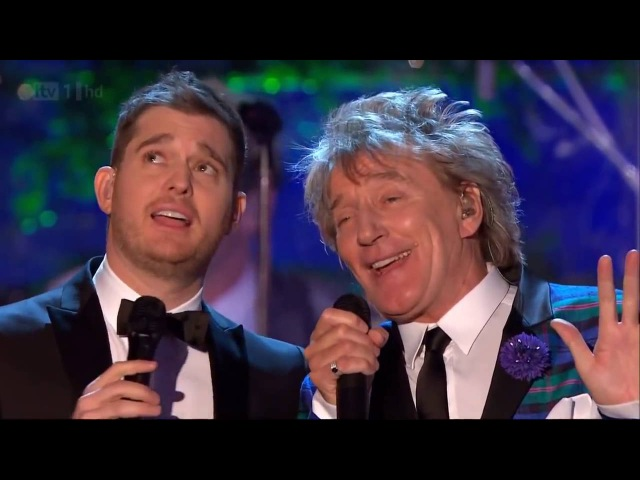 Rod Stewart Michael Buble Winter Wonderland