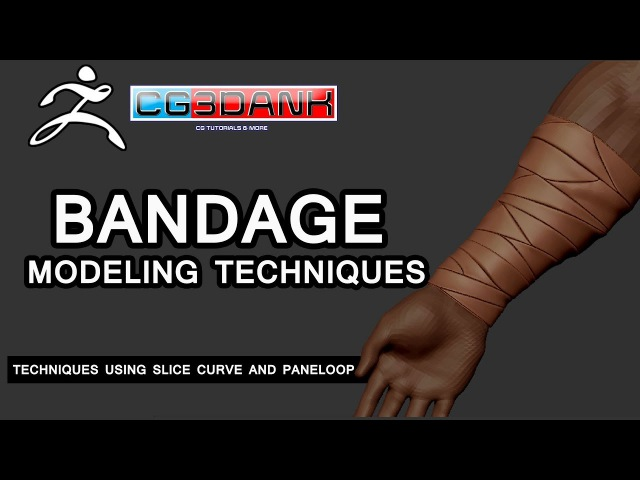 ZBRUSH TUTORIAL_TECHNIQUES OF CLOTH BANDAGES MODELING